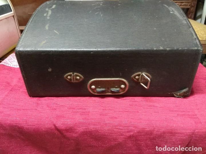 Antigüedades: MUY ANTIGUA MAQUINA DE ESCRIBIR MARCA REGIA MIXTA,BUEN ESTADO - Foto 10 - 158671446
