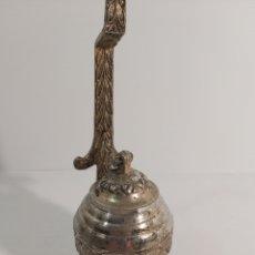 Antigüedades: LAMPARA DE ACEITE CROMADA. Lote 224181873