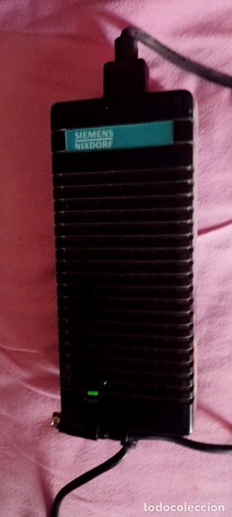 ALIMENTADOR SIEMENS NIXDORF PARA PORTÁTIL ANTIGUO FUNCIONA (Antigüedades - Técnicas - Ordenadores hasta 16 bits (anteriores a 1982))
