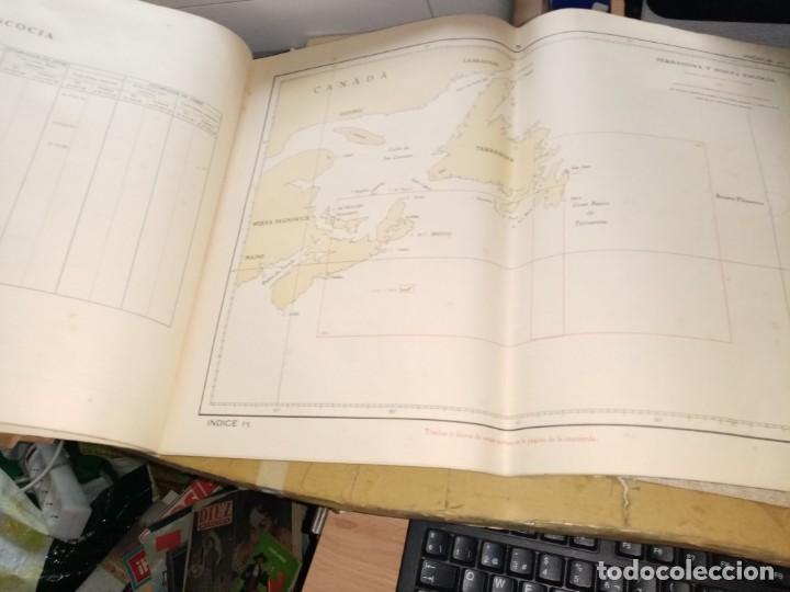 Antigüedades: CATALOGO DE CARTAS NAUTICAS Y OTRAS PUBLICACIONES EDITADA POR EL INSTITUTO H. DE LA MARINA 1956 - Foto 5 - 224221472