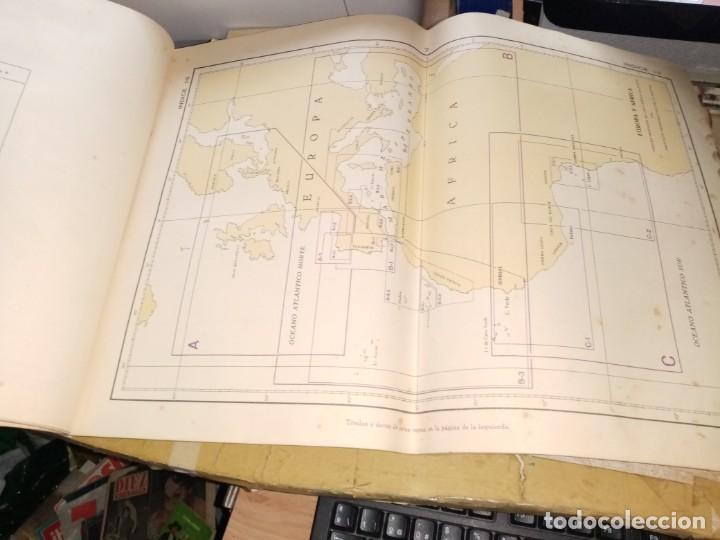Antigüedades: CATALOGO DE CARTAS NAUTICAS Y OTRAS PUBLICACIONES EDITADA POR EL INSTITUTO H. DE LA MARINA 1956 - Foto 6 - 224221472