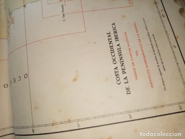 Antigüedades: CATALOGO DE CARTAS NAUTICAS Y OTRAS PUBLICACIONES EDITADA POR EL INSTITUTO H. DE LA MARINA 1956 - Foto 8 - 224221472