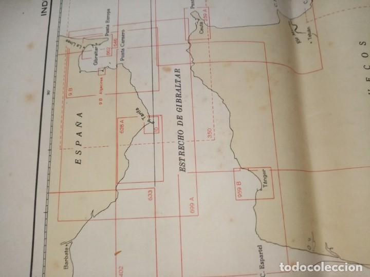 Antigüedades: CATALOGO DE CARTAS NAUTICAS Y OTRAS PUBLICACIONES EDITADA POR EL INSTITUTO H. DE LA MARINA 1956 - Foto 9 - 224221472