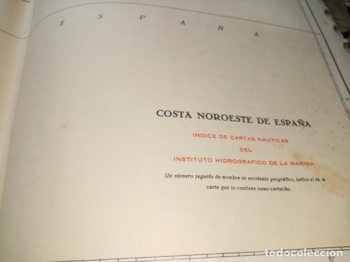 Antigüedades: CATALOGO DE CARTAS NAUTICAS Y OTRAS PUBLICACIONES EDITADA POR EL INSTITUTO H. DE LA MARINA 1956 - Foto 10 - 224221472