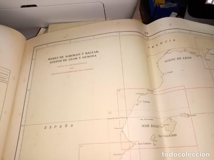 Antigüedades: CATALOGO DE CARTAS NAUTICAS Y OTRAS PUBLICACIONES EDITADA POR EL INSTITUTO H. DE LA MARINA 1956 - Foto 11 - 224221472