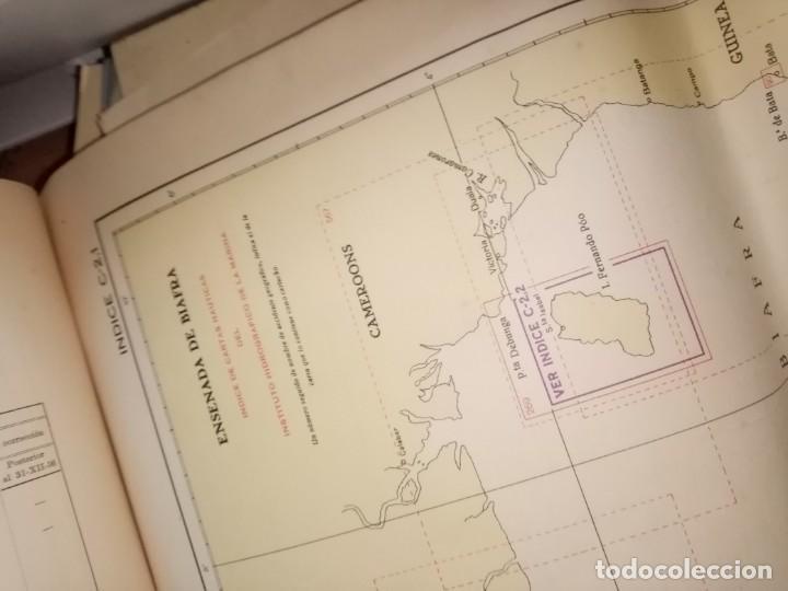 Antigüedades: CATALOGO DE CARTAS NAUTICAS Y OTRAS PUBLICACIONES EDITADA POR EL INSTITUTO H. DE LA MARINA 1956 - Foto 13 - 224221472
