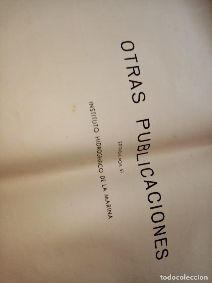 Antigüedades: CATALOGO DE CARTAS NAUTICAS Y OTRAS PUBLICACIONES EDITADA POR EL INSTITUTO H. DE LA MARINA 1956 - Foto 14 - 224221472
