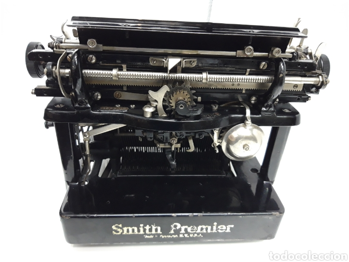Antigüedades: ANTIGUA MAQUINA DE ESCRIBIR TYPEWRITER SMITH PREMIER - Foto 5 - 224226771