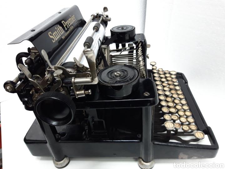 Antigüedades: ANTIGUA MAQUINA DE ESCRIBIR TYPEWRITER SMITH PREMIER - Foto 6 - 224226771