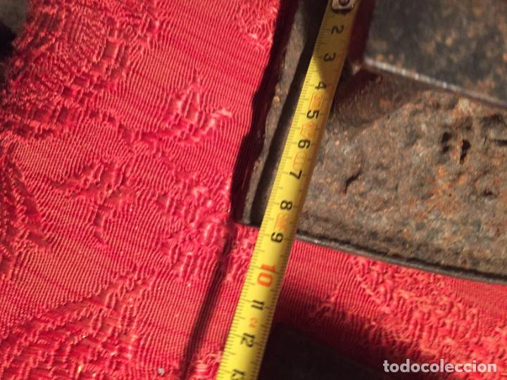 Antigüedades: Antiguas 2 plancha / planchas de hierro forjado de finales siglo XIX - Foto 13 - 224235566