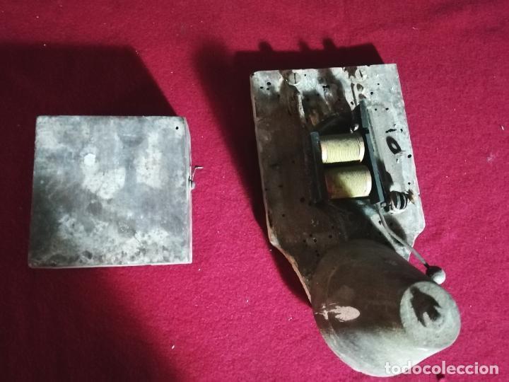 Antigüedades: Antiguo timbre - para restaurar - - Foto 3 - 224253870