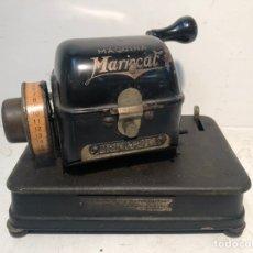 Antigüedades: MAQUINA DE MARCAR TALONES MARCA MARISCAL MODELO R ANTIGUA.. Lote 224343175