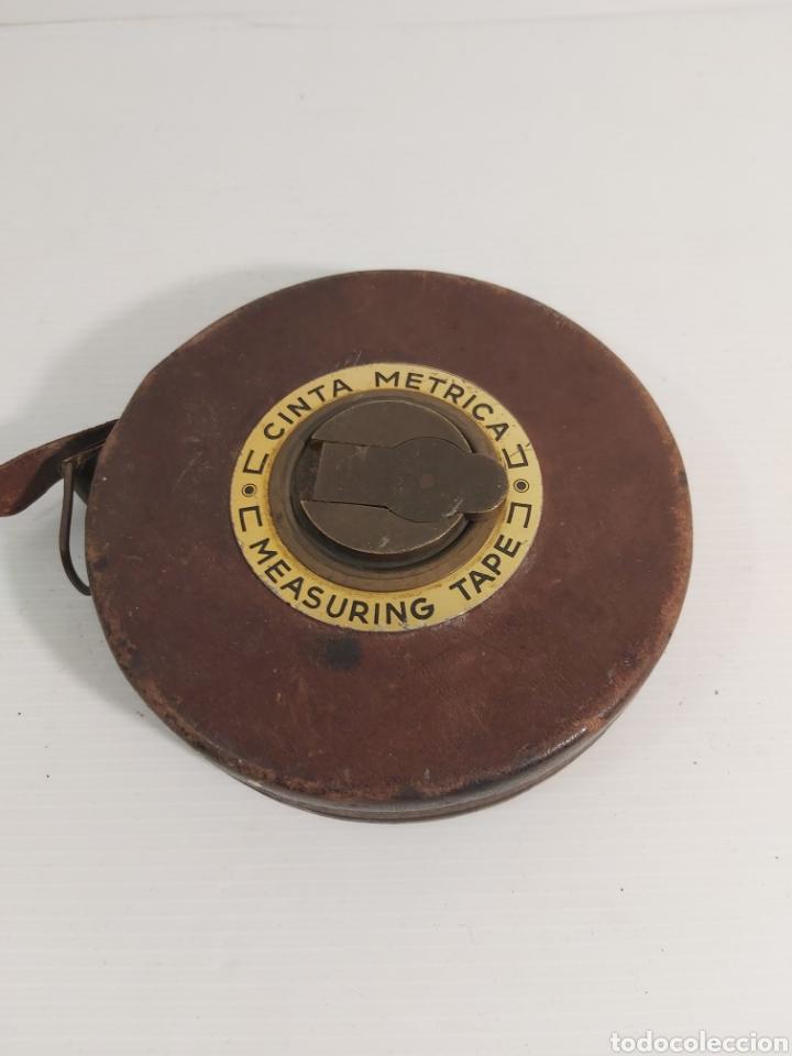 CINTA METRICA (Antigüedades - Técnicas - Medidas de Peso Antiguas - Otras)
