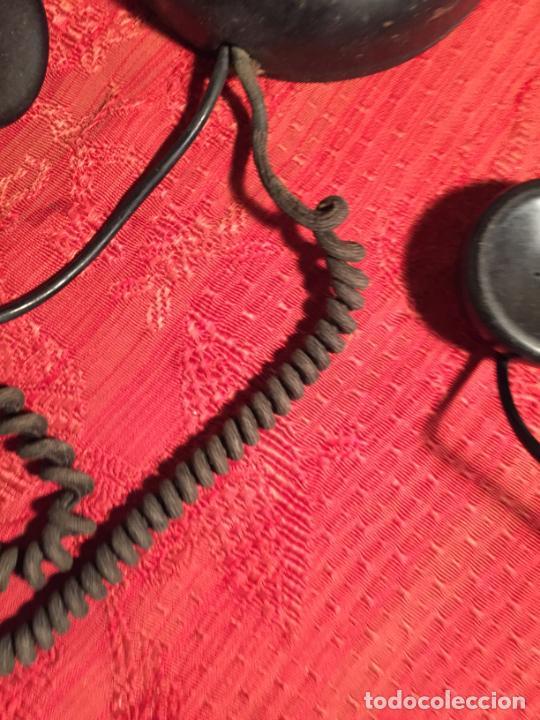 Teléfonos: Antiguo telefono de ruleta de baquelita negra años 30-40 - Foto 13 - 224476275