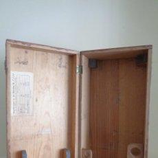 Antigüedades: CAJA PARA MICROSCOPIO. Lote 224502108