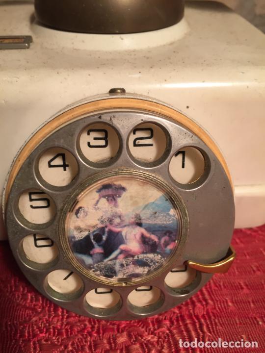 Teléfonos: Antiguo telefono blanco de la marca Elasa de los años 60-70 - Foto 4 - 224511402