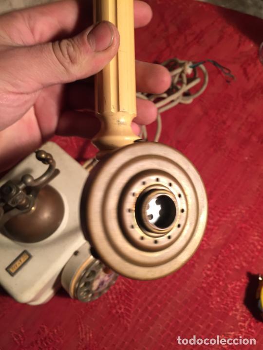 Teléfonos: Antiguo telefono blanco de la marca Elasa de los años 60-70 - Foto 6 - 224511402