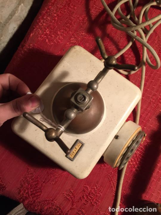 Teléfonos: Antiguo telefono blanco de la marca Elasa de los años 60-70 - Foto 10 - 224511402