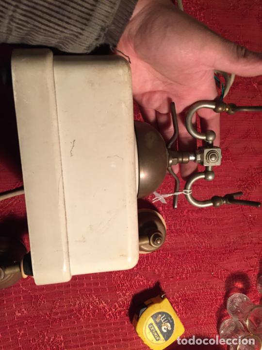 Teléfonos: Antiguo telefono blanco de la marca Elasa de los años 60-70 - Foto 11 - 224511402