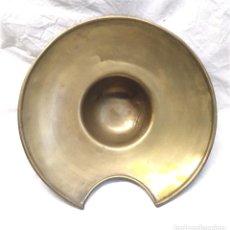 Antigüedades: BACIA DE BARBERO METAL O LATÓN S XIX. MED. 29,50 CM. Lote 224513726