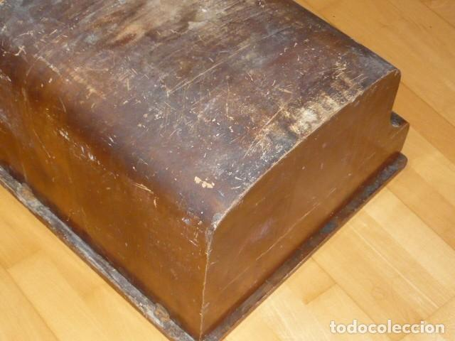 Antigüedades: RARISIMA MAQUINA DE ESCRIBIR REMINGTON STANDARD 10 CON SU CAJA ORIGINAL DE MADERA - Foto 9 - 224666038