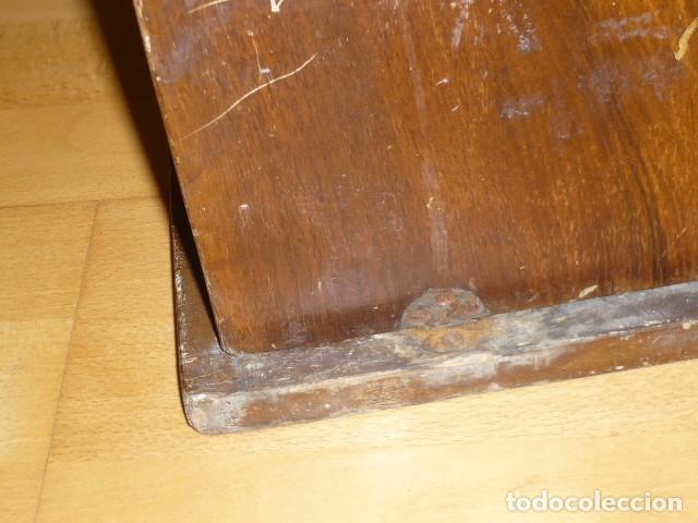 Antigüedades: RARISIMA MAQUINA DE ESCRIBIR REMINGTON STANDARD 10 CON SU CAJA ORIGINAL DE MADERA - Foto 10 - 224666038