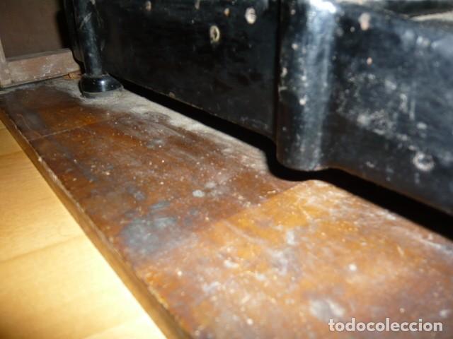 Antigüedades: RARISIMA MAQUINA DE ESCRIBIR REMINGTON STANDARD 10 CON SU CAJA ORIGINAL DE MADERA - Foto 20 - 224666038