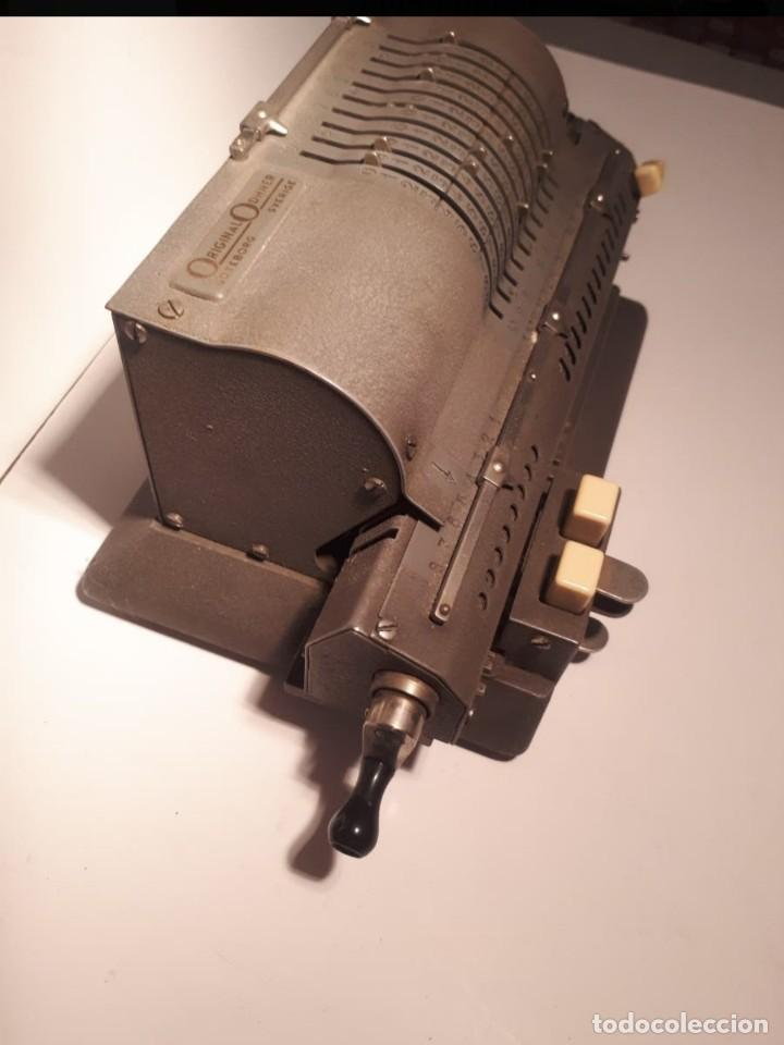 Antigüedades: Calculadora Manual odhner - Foto 4 - 224726158