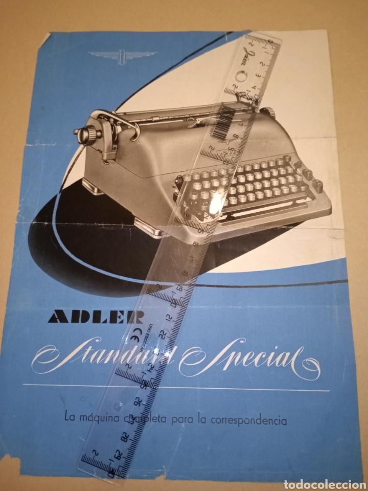 PUBLICIDAD MAQUINA ESCRIBIR ADLER HADITOR MELILLA (Antigüedades - Técnicas - Máquinas de Escribir Antiguas - Otras)