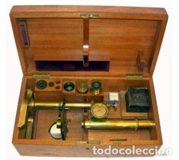 Antigüedades: MICROSCOPIO ALEMÁN SEIBERT SIGLO XIX (c.1888). - Foto 7 - 223704975