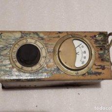 Antigüedades: ANTIGUO TRANSFORMADOR ELEVADOR/REDUCTOR MARCA SEVEIN PARA RADIO VÁLVULAS. Lote 224843427