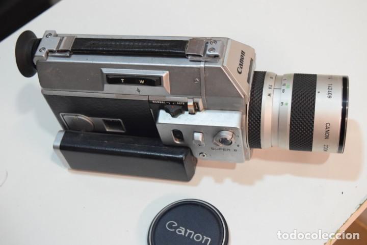 CANON 814 XL.SUPER 8 GAMA ALTA. (Antigüedades - Técnicas - Aparatos de Cine Antiguo - Cámaras de Super 8 mm Antiguas)