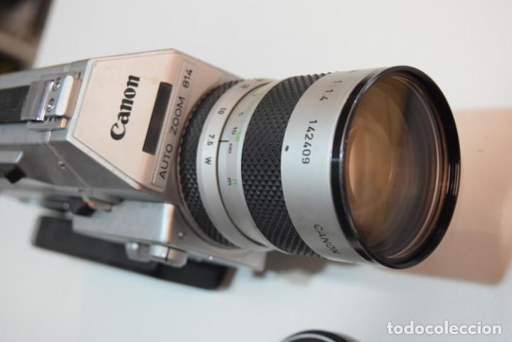 Antigüedades: Canon 814 XL.Super 8 gama alta. - Foto 2 - 224890067