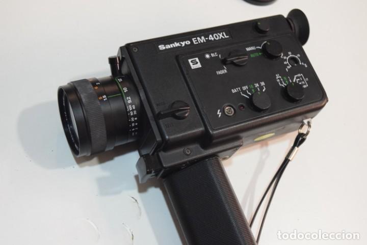 SANKYO EL 40 XM (Antigüedades - Técnicas - Aparatos de Cine Antiguo - Cámaras de Super 8 mm Antiguas)