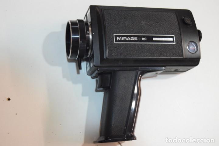 MIRAGE 20 . (Antigüedades - Técnicas - Aparatos de Cine Antiguo - Cámaras de Super 8 mm Antiguas)