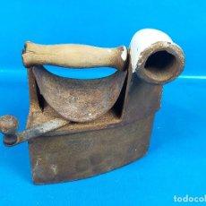 Antigüedades: PLANCHA CARBON. Lote 224902245