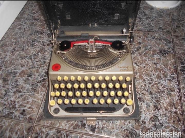ANTIGUA MAQUINA DE ESCRIBIR PORTATIL REMINGTON PORTABLE CREO MODELO 5 FUNCIONANDO (Antigüedades - Técnicas - Máquinas de Escribir Antiguas - Otras)