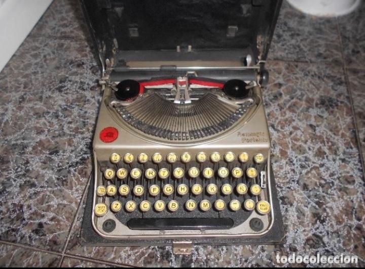 Antigüedades: Antigua maquina de escribir portatil Remington Portable CREO MODELO 5 FUNCIONANDO - Foto 2 - 224916781