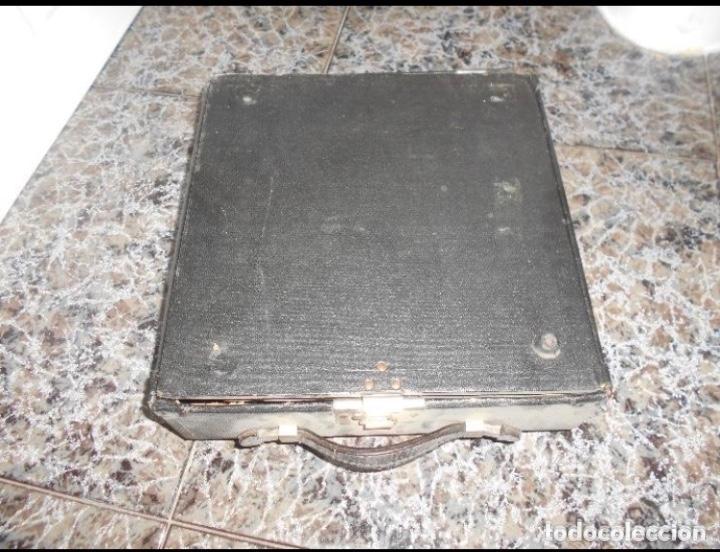 Antigüedades: Antigua maquina de escribir portatil Remington Portable CREO MODELO 5 FUNCIONANDO - Foto 5 - 224916781
