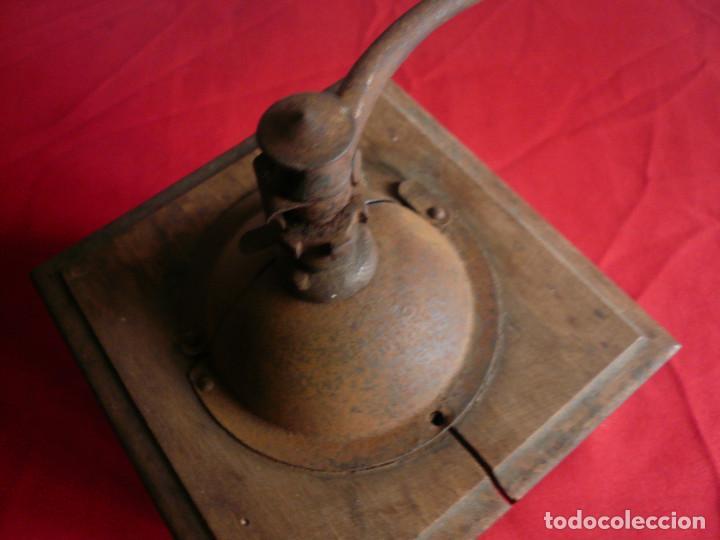 Antigüedades: ANTIGUO MONILLO DE CAFÉ. PEUGEOT FRÈRES FRANCIA. MADERA Y METAL - Foto 11 - 224919417