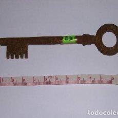 Antigüedades: ANTIGUA LLAVE DE HIERRO FORJADO. Lote 224955153