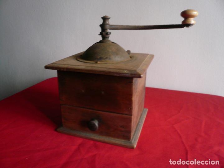 Antigüedades: ANTIGUO MONILLO DE CAFÉ. FRANCIA. MADERA Y METAL. TAMAÑO GRANDE - Foto 10 - 225048525