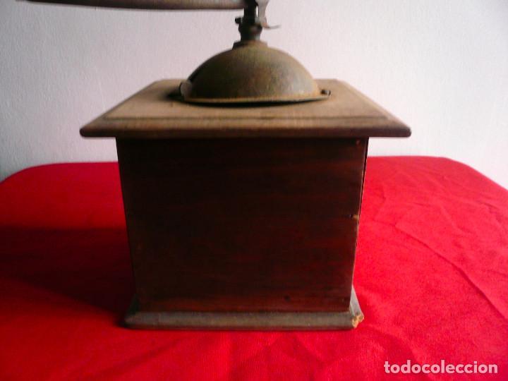 Antigüedades: ANTIGUO MONILLO DE CAFÉ. FRANCIA. MADERA Y METAL. TAMAÑO GRANDE - Foto 13 - 225048525