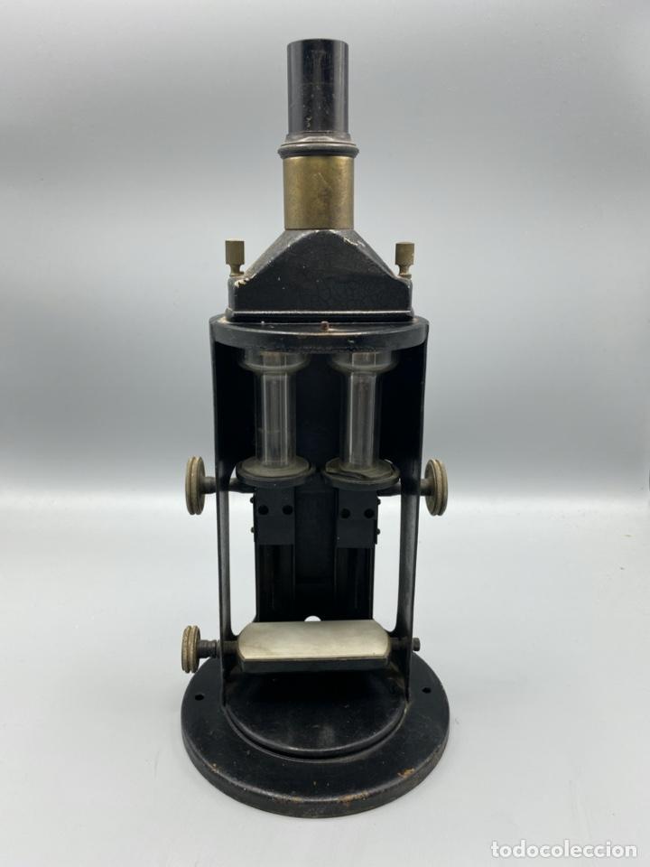 ANTIGUO COLORÍMETRO ALEMÁN. MARCA F. HELLIGE & CO. FREIBURG. VER TODAS LAS FOTOS (Antigüedades - Técnicas - Instrumentos Ópticos - Microscopios Antiguos)