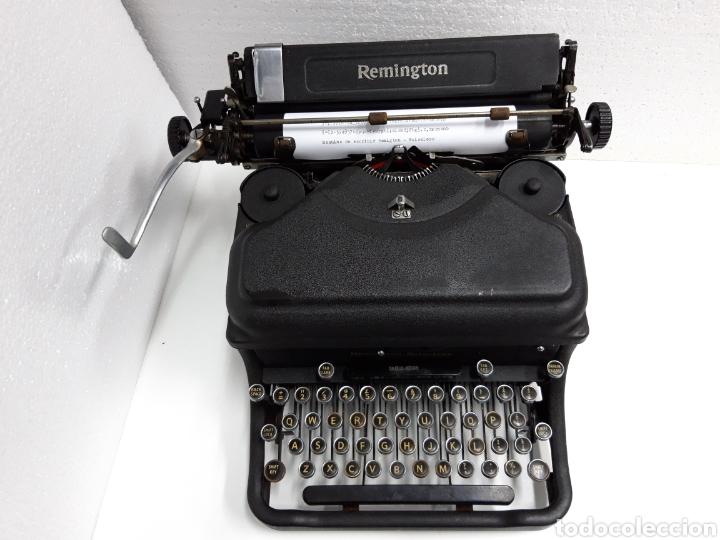 Antigüedades: ANTIGUA MAQUINA DE ESCRIBIR TYPEWRITER REMINGTON - NOISELESS - Foto 2 - 225122918