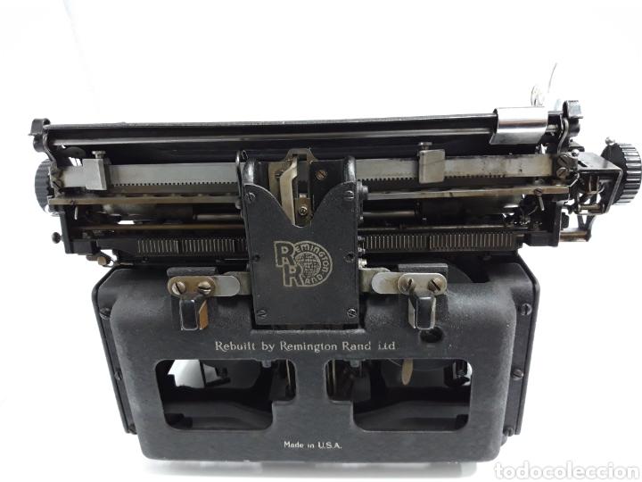 Antigüedades: ANTIGUA MAQUINA DE ESCRIBIR TYPEWRITER REMINGTON - NOISELESS - Foto 6 - 225122918