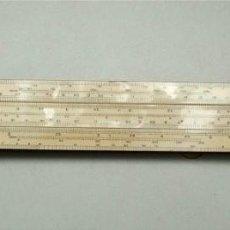 Antigüedades: REGLA DE CÁLCULO UNIQUE ELECTRICAL SLIDE RULE. FABRICADA EN INGLATERRA (VER DESCRIPCIÓN). Lote 225205315