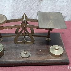 Antiquités: BALANZA PESACARTAS INGLESA.... Lote 225302448