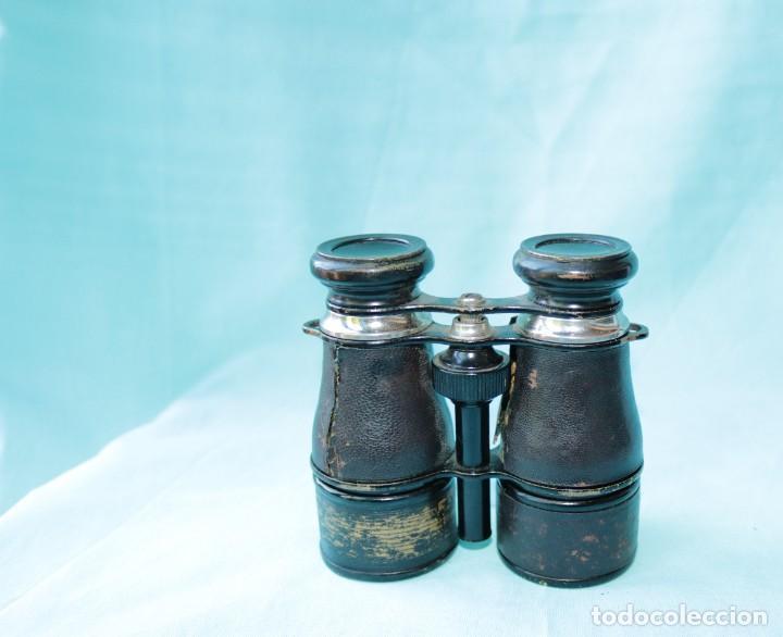 Antigüedades: Binoculares militares antiguos francesas . Antique french military binoculars. - Foto 6 - 57712541