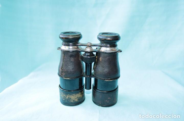 Antigüedades: Binoculares militares antiguos francesas . Antique french military binoculars. - Foto 7 - 57712541